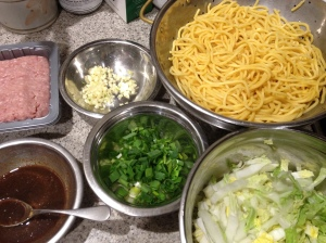 chicken noodle ingredients