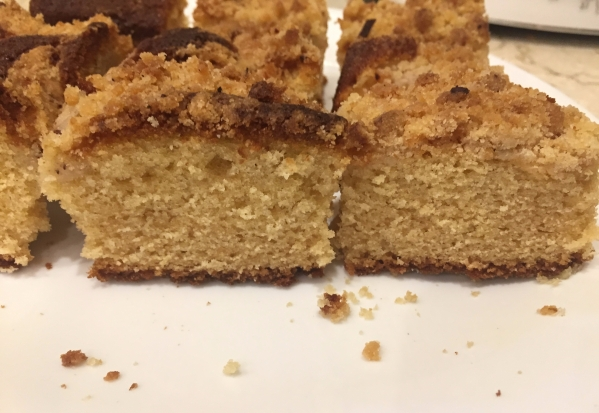 German coffee cake