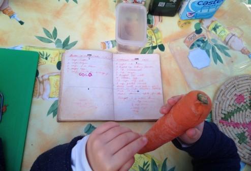 consulting Mum's original recipe.JPG