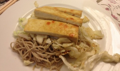 soba noodles with tofu