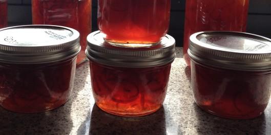 finished marmalade