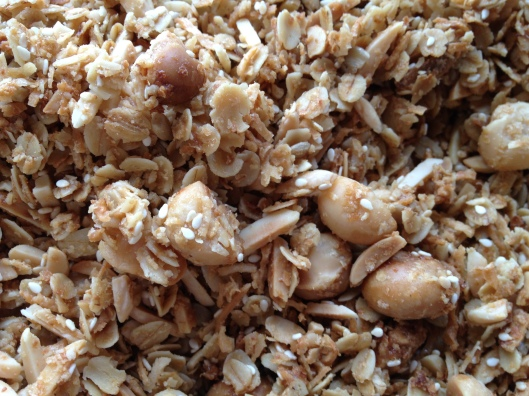 muesli close up