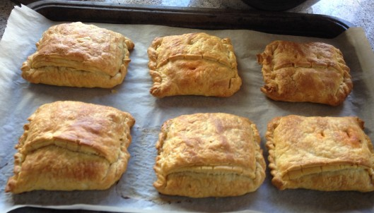 finished pasties