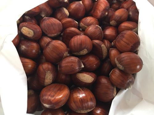 Organic chestnuts