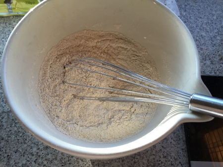 whisk together dry ingredients