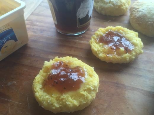 Pawpaw scones