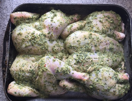 marinate chickens overnight