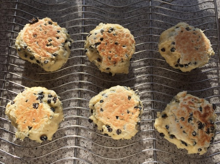 cool scones on a rack if not eating immediately