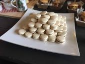 Salted caramel mararons