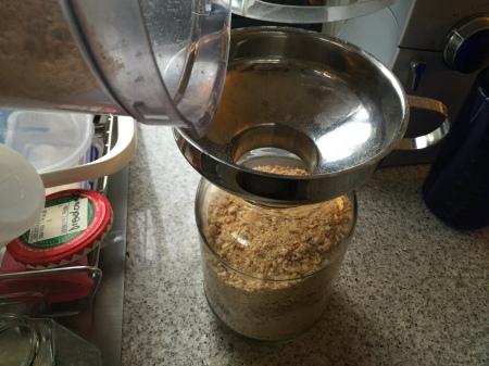 store in an airtight jar
