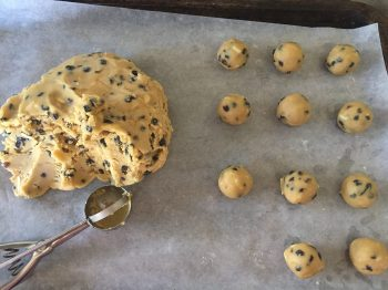 Dough for Cardamom Almond Circlets
