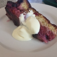 Summer Berry Pudding Cake