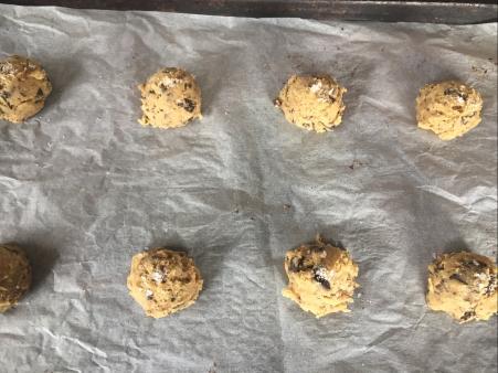 sprinkle dough with sea salt