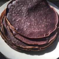 Purple Corn Crêpes