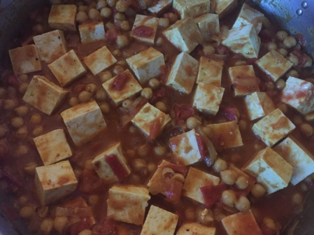 add tofu to curry