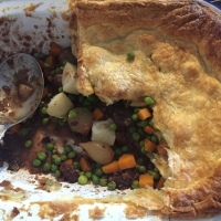 The Best - Silvana's Lazy Steak and Onion Pie