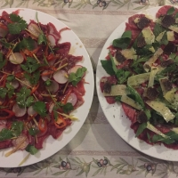 Beef Carpaccio - Two Variations