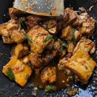 Bear's Paw Tofu (Xiong zhang dou fu)